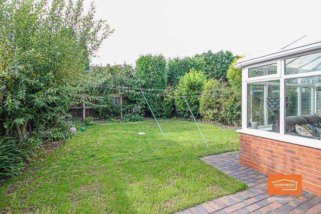 Rear Garden of Green Lane, Shelfield WS4