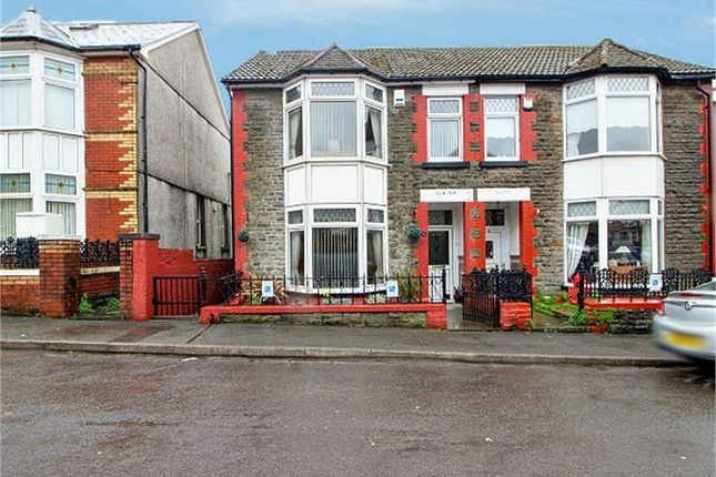 Thumbnail Semi-detached house for sale in Vaynor Street, Porth, Mid Glamorgan