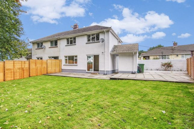 3 bed semi-detached house for sale in Wilkey Close, Barnstaple EX32