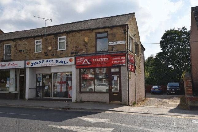 Thumbnail Retail premises to let in Market Street, Hemsworth, Pontefract
