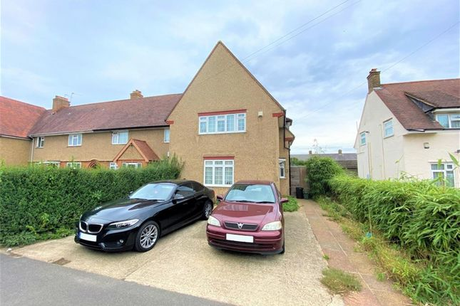 Thumbnail End terrace house to rent in Seventh Avenue, Hayes, Middlesex
