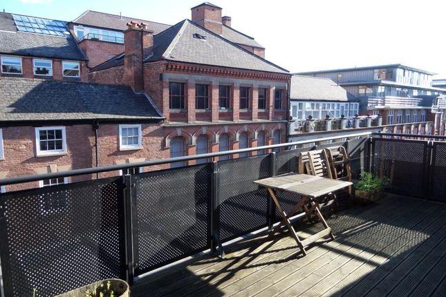 Thumbnail Flat to rent in Plumptre Street, Nottingham