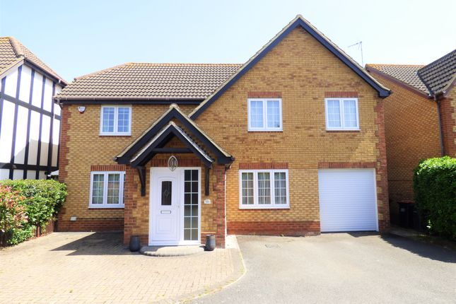 Thumbnail Detached house for sale in Great Portway, Great Denham, Bedford
