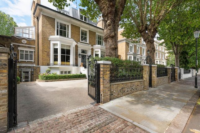 Thumbnail Terraced house for sale in Holland Villas Road, Holland Park, London