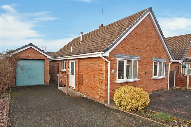 Thumbnail Detached bungalow for sale in Prescott Fields, Baschurch, Shrewsbury