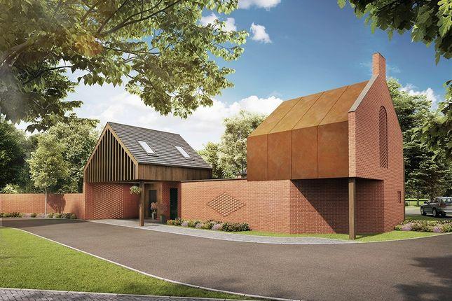 Thumbnail Detached house for sale in Culcheth Hall Drive, Culcheth, Warrington