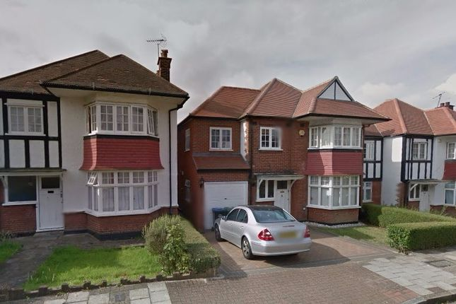 Thumbnail Flat to rent in Wickliffe Gardens, Wembley