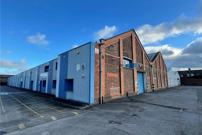 Thumbnail Light industrial to let in Unit 5, Causeway Park, Central Road, Warrington, Cheshire