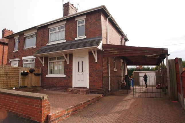 Thumbnail Semi-detached house to rent in Hazelhurst Road, Stoke-On-Trent, Staffordshire