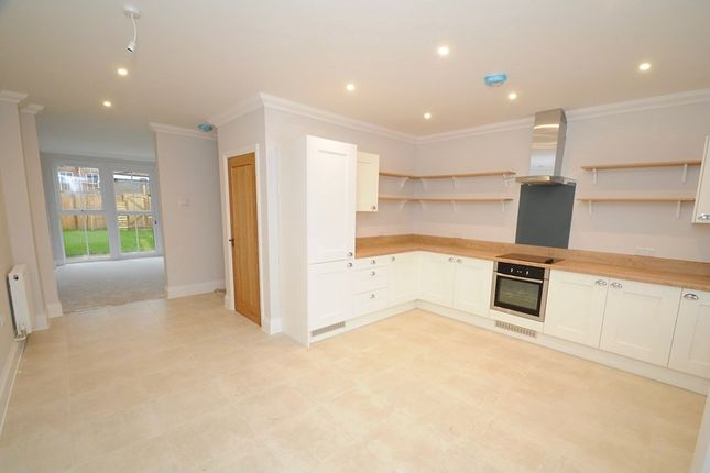 Thumbnail Town house for sale in Chalice Close, Lower Parkstone, Poole