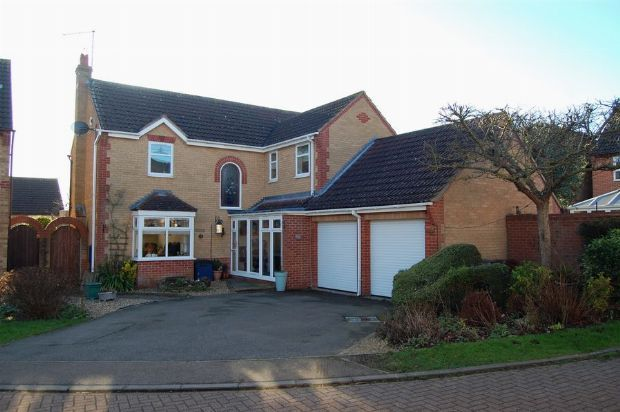 Thumbnail Detached house for sale in Hibiscus Close, Abington Vale, Northampton
