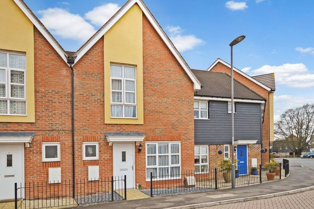 Thumbnail Terraced house to rent in Gwendoline Buck Drive, Aylesbury