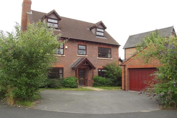 Thumbnail Detached house to rent in Elmlea, Altrincham
