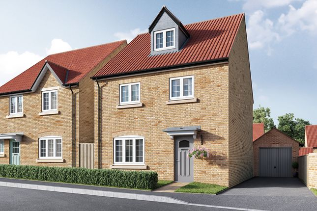 "Thumbnail Detached house for sale in ""The Ripley"" at Isemill Road, Burton Latimer, Kettering"