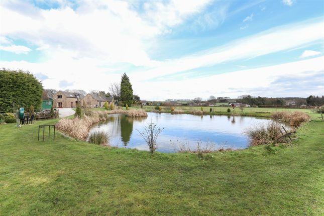 Thumbnail Detached house for sale in Longacre Lodge, Foxholes Lane, Tansley, Matlock
