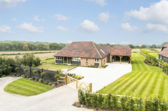 Thumbnail Bungalow for sale in Crockstead Green Farm, Halland, Lewes, East Sussex