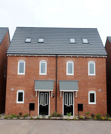 """Thumbnail Terraced house for sale in """"The Moseley"""" at Lakes Road, Derwent Howe Industrial Estate, Workington"""