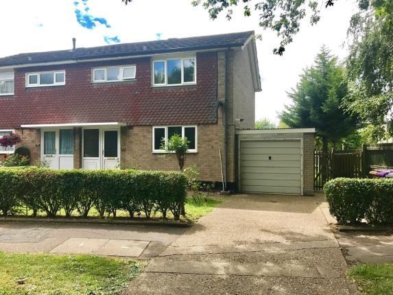 Thumbnail Semi-detached house for sale in Radburn Way, Letchworth Garden City, Hertfordshire, England