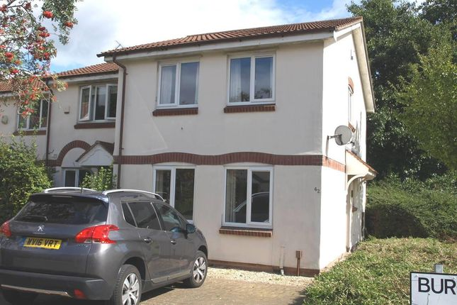 Thumbnail End terrace house to rent in Burgess Green Close, St. Annes Park, Bristol