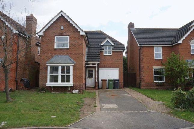 Thumbnail Detached house to rent in Brickberry Close, Hampton Hargate, Peterborough