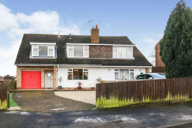 Thumbnail Semi-detached house for sale in Epsom Road, Bilton, Rugby