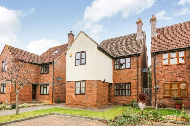 Thumbnail Detached house for sale in Rothbury Close, Sandy, Bedforshire, UK