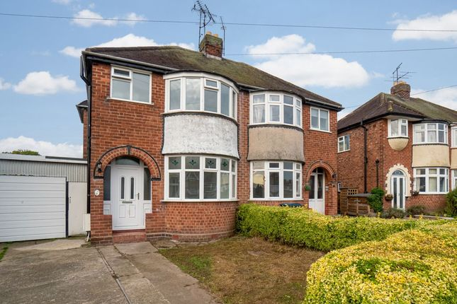 Thumbnail Semi-detached house to rent in Sundorne Crescent, Shrewsbury