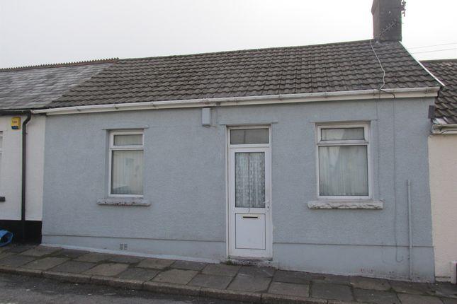 Thumbnail Terraced bungalow for sale in Alphonso Street, Dowlais, Merthyr Tydfil