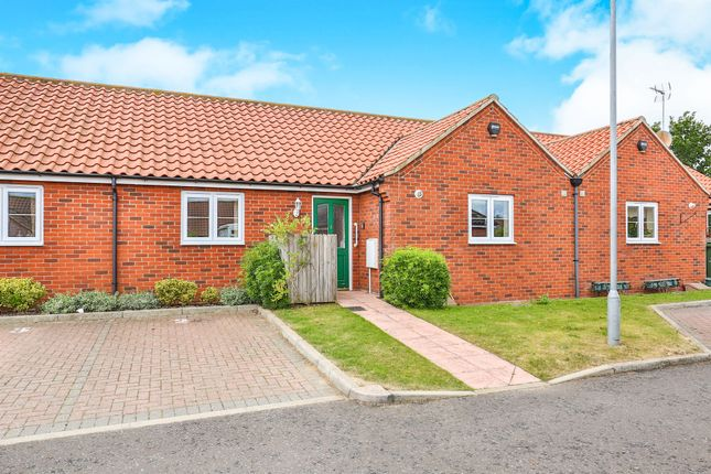 Thumbnail Terraced bungalow for sale in Magnolia Mews, Swanton Morley, Dereham