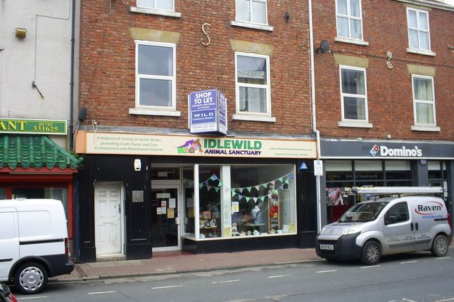 Thumbnail Retail premises to let in Bodfor Street, Rhyl
