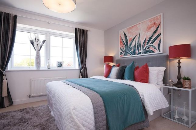 "Master Bedroom of ""Kingsville"" at Woodcock Square, Mickleover, Derby DE3"