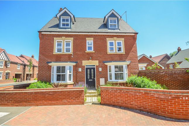 Thumbnail Detached house for sale in Clover Way, Kempston