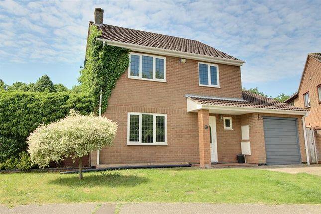 Thumbnail Detached house for sale in The Crofts, Chapel Break, Norwich