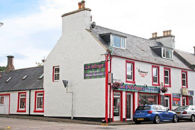 Thumbnail Restaurant/cafe for sale in La Mirage Restaurant, Dunrobin Street, Helmsdale, Sutherland