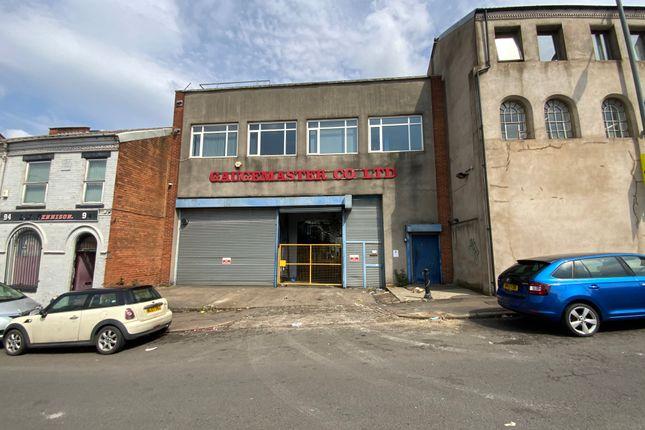 Thumbnail Warehouse for sale in Leopold Street, Birmingham