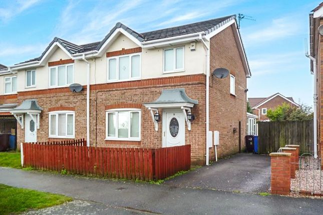 Thumbnail Semi-detached house to rent in Manorwood Drive, Whiston, Prescot