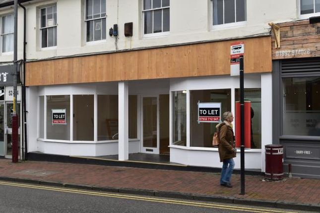 Thumbnail Retail premises to let in Albert Cottages, Camden Road, Tunbridge Wells