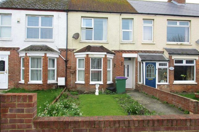 Thumbnail Terraced house for sale in Somerset Road, Folkestone