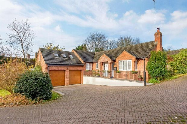 Thumbnail Detached bungalow to rent in Farebrother Close, Byfield, Daventry