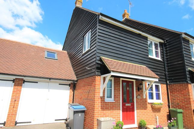 Thumbnail End terrace house for sale in Homestead Court, Deal