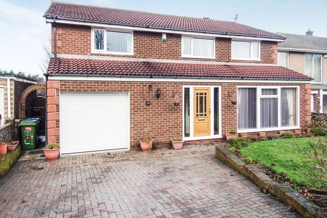 Thumbnail Detached house for sale in The Demesne, Ashington