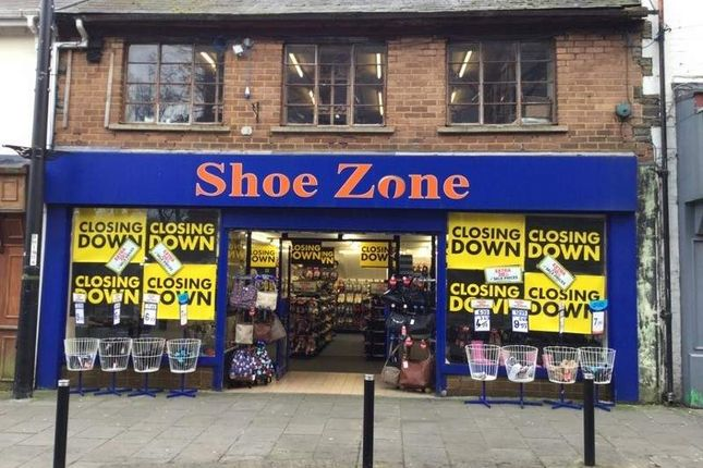 Thumbnail Retail premises to let in Former Shoe Zone Site, Abertillery