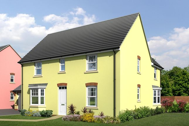 "Thumbnail Detached house for sale in ""Layton"" at Wonastow Road, Monmouth"