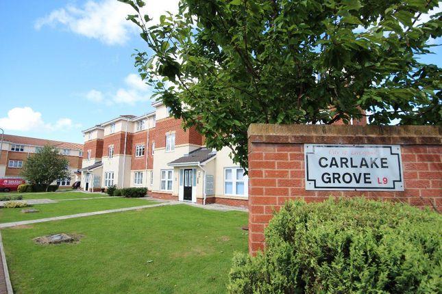 Thumbnail Flat to rent in Carlake Grove, Walton, Liverpool