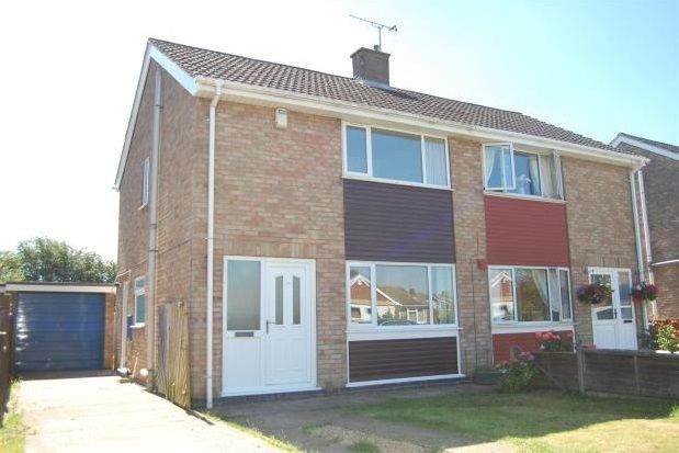 Thumbnail Semi-detached house to rent in Minster Drive, Cherry Willingham, Lincoln