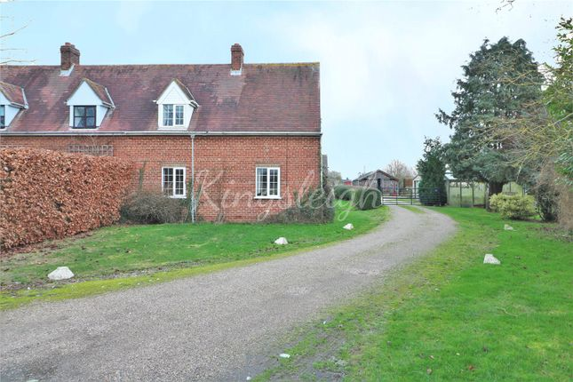 Thumbnail Semi-detached house for sale in Tile Barn Lane, Lawford, Manningtree, Essex