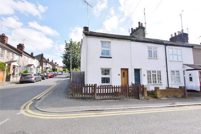Thumbnail End terrace house for sale in Great Eastern Road, Warley, Brentwood, Essex