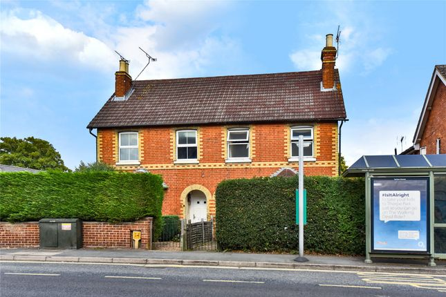Thumbnail Maisonette to rent in Frimley Road, Camberley, Surrey