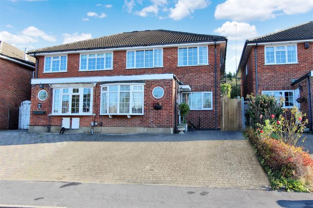Thumbnail Semi-detached house for sale in The Maltings, Hunton Bridge, Kings Langley