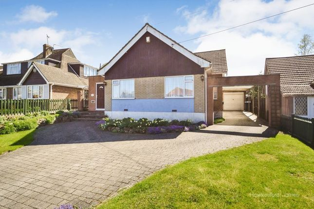 Thumbnail Detached bungalow for sale in Robin Hood Lane, Walderslade, Chatham